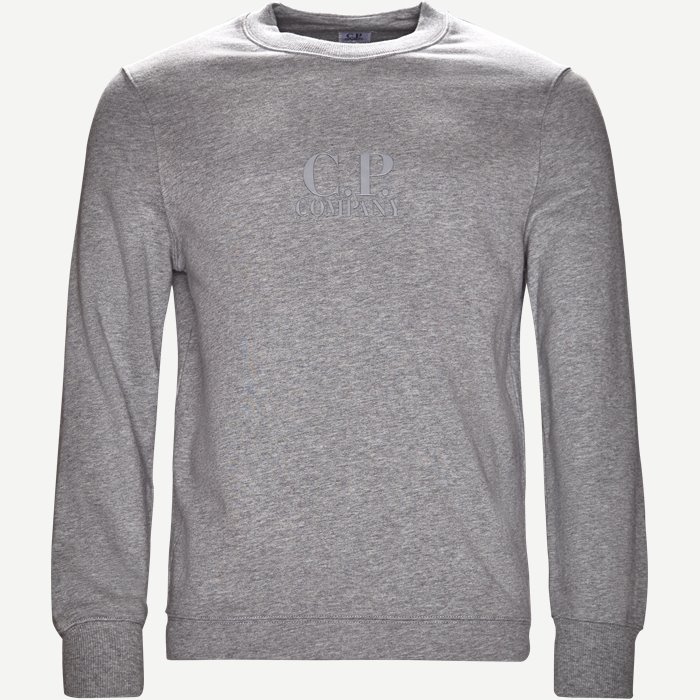 Crew Neck Sweatshirt - Sweatshirts - Regular - Grå
